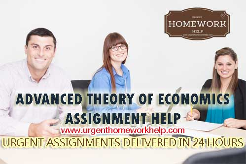 advanced theory of economics homework help