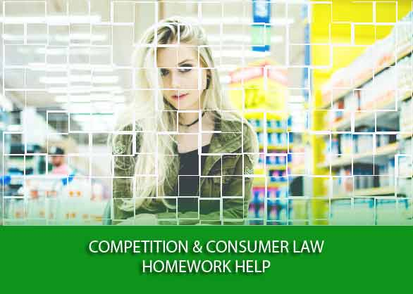 competition and consumer law homework help