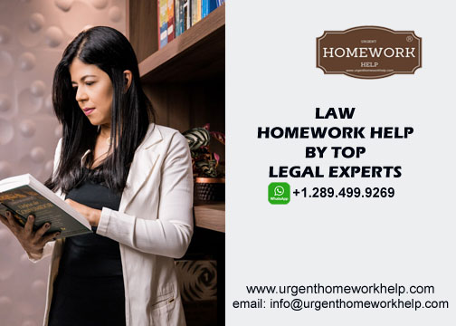law homework help online