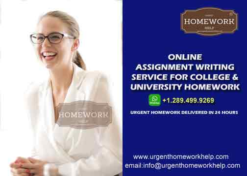 Online Assignment Help. Online Homework Help.