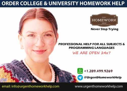 Order College Homework Help 24x7