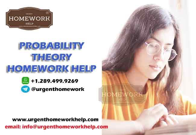 probability theory homework help