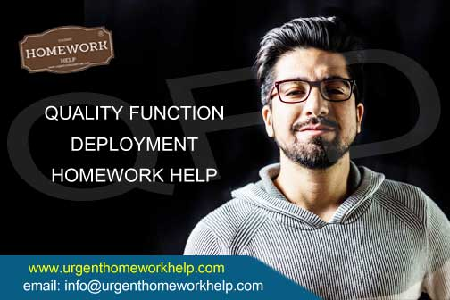 quality function deployment homework help