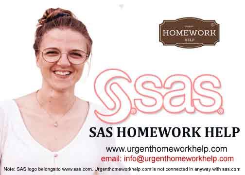 SAS homework help