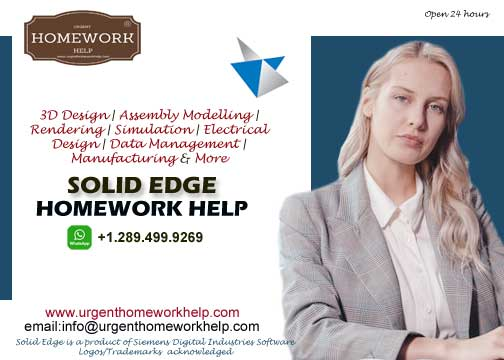 solid edge homework help